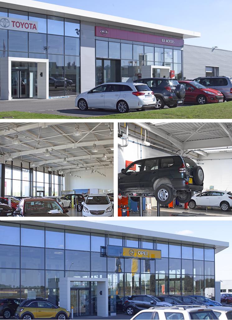 concessions automobiles et atelier mécanique
